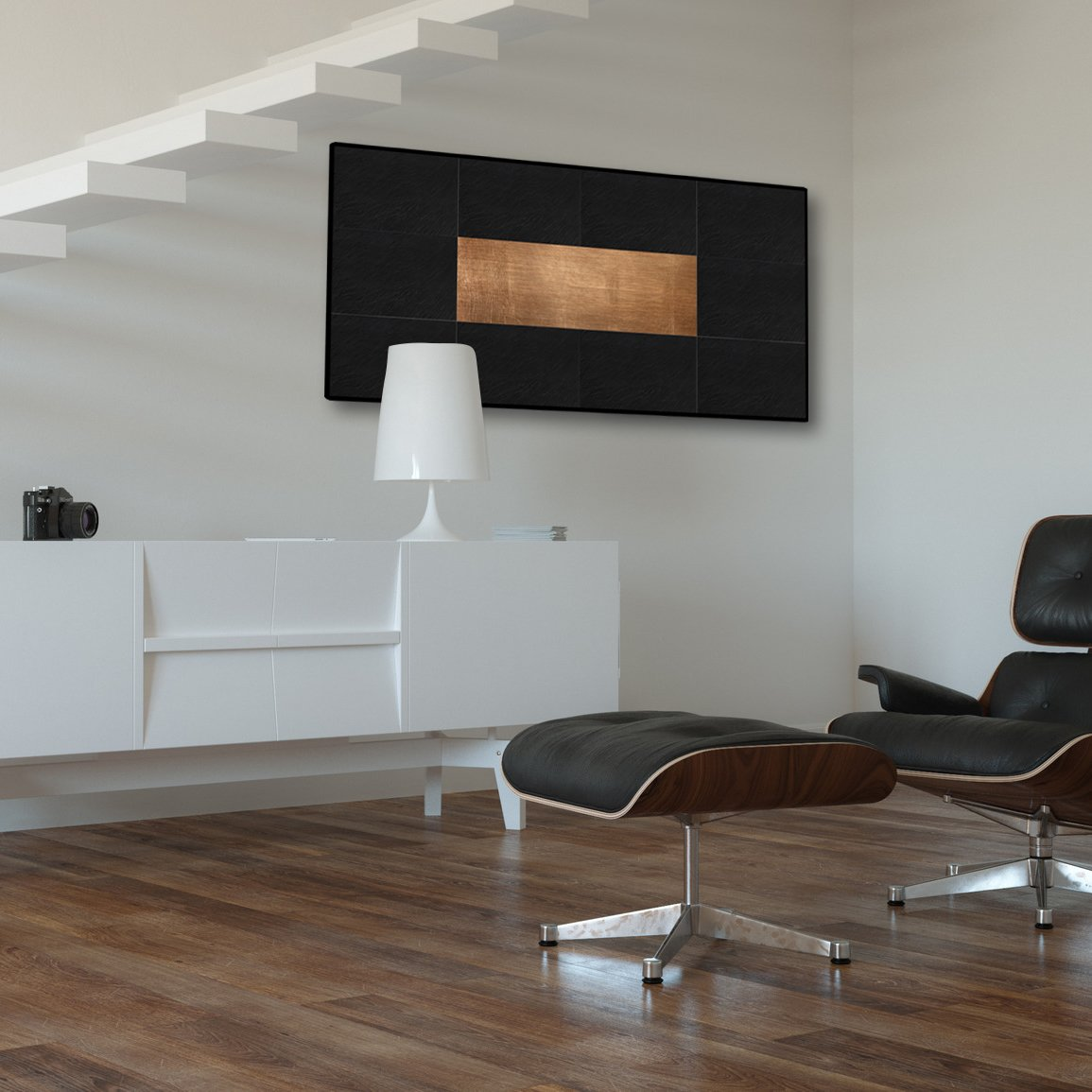 Pannelli radianti arredo thermosaic - Riscaldamento pannelli radianti a parete ...