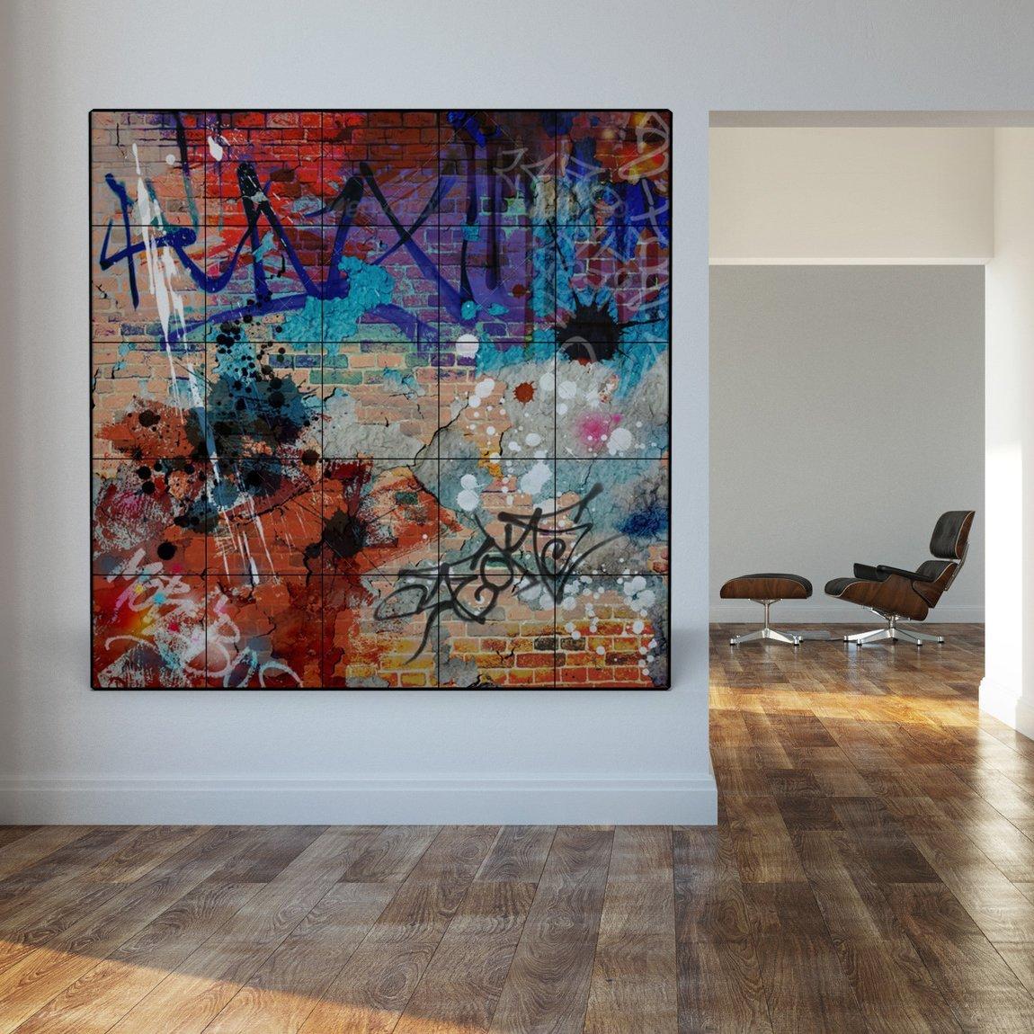 pannello radiante a parete thermosaic simple 200x200 COMFORT GRAFFITI
