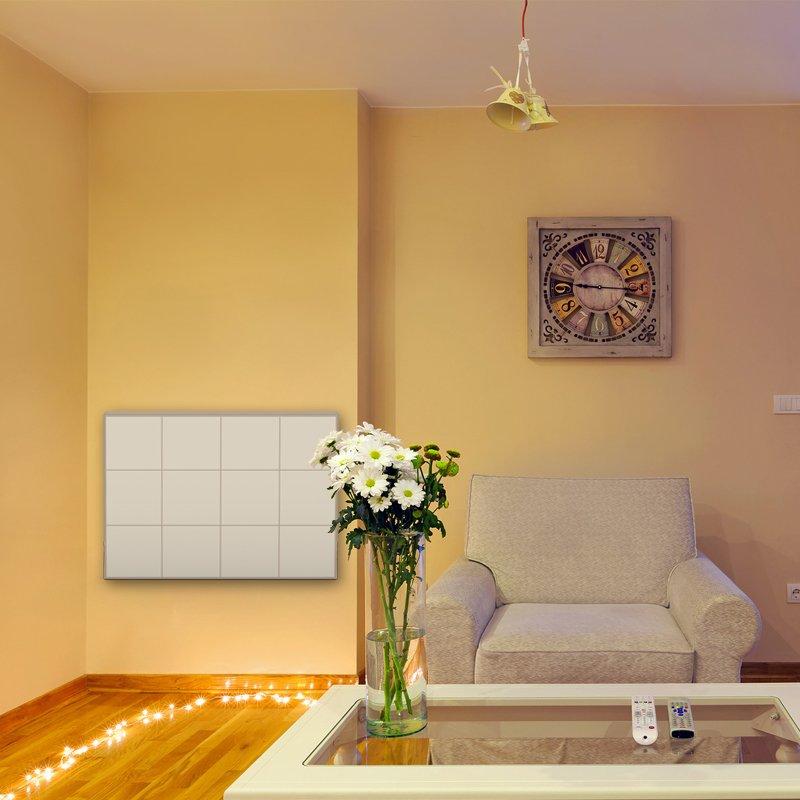 pannello radiante colorato thermosaic beige