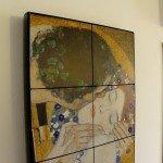 pannello radiante artistico Thermosaic Klimt