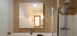 pannello radiante specchio - installazione walserhouse