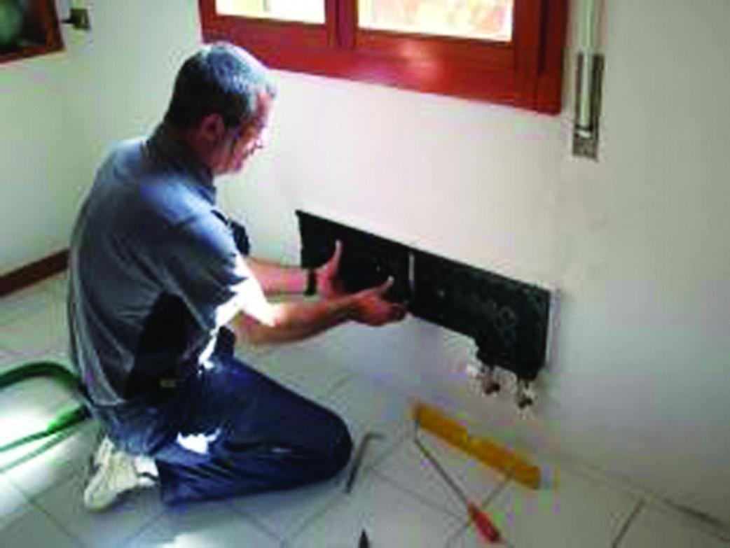 montaggio pannelli radianti THERMOSAIC