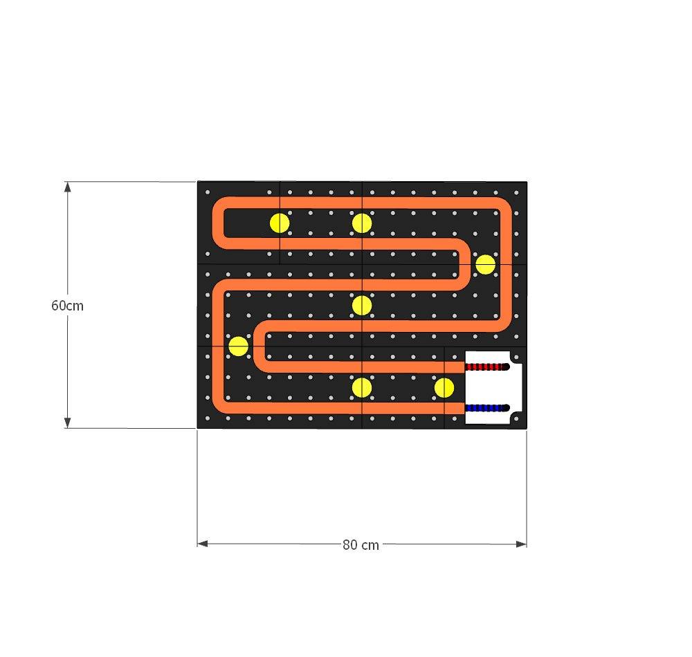 schema moduli attivi Pannello Radiante Colorato BEIGE