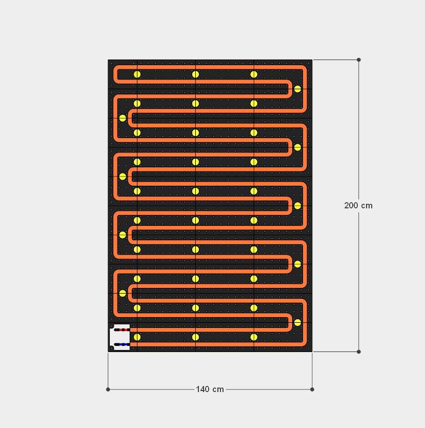 schema moduli attivi 140x200