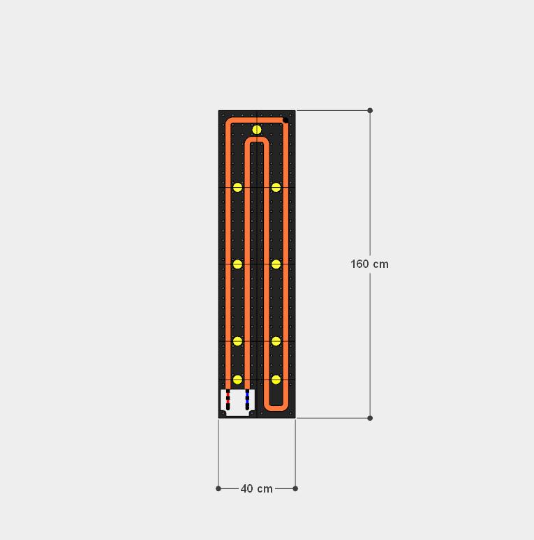 schema moduli attivi 40x160