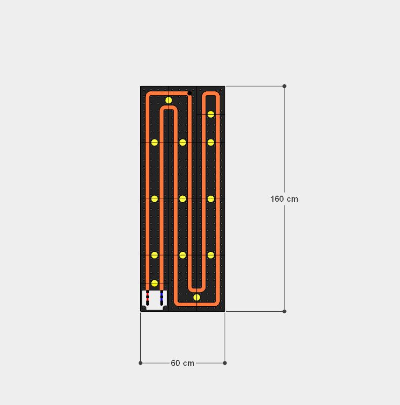 schema moduli attivi 60x160